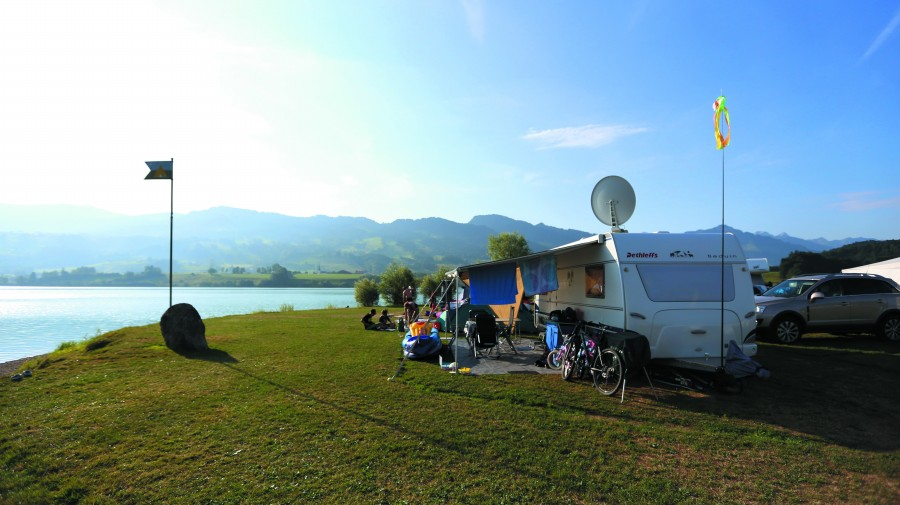Camping du lac potentille - Camping les jardins de l atlantique ...
